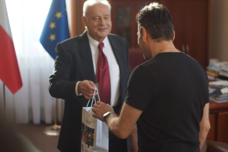 Tadeusz Huk w roli ministra